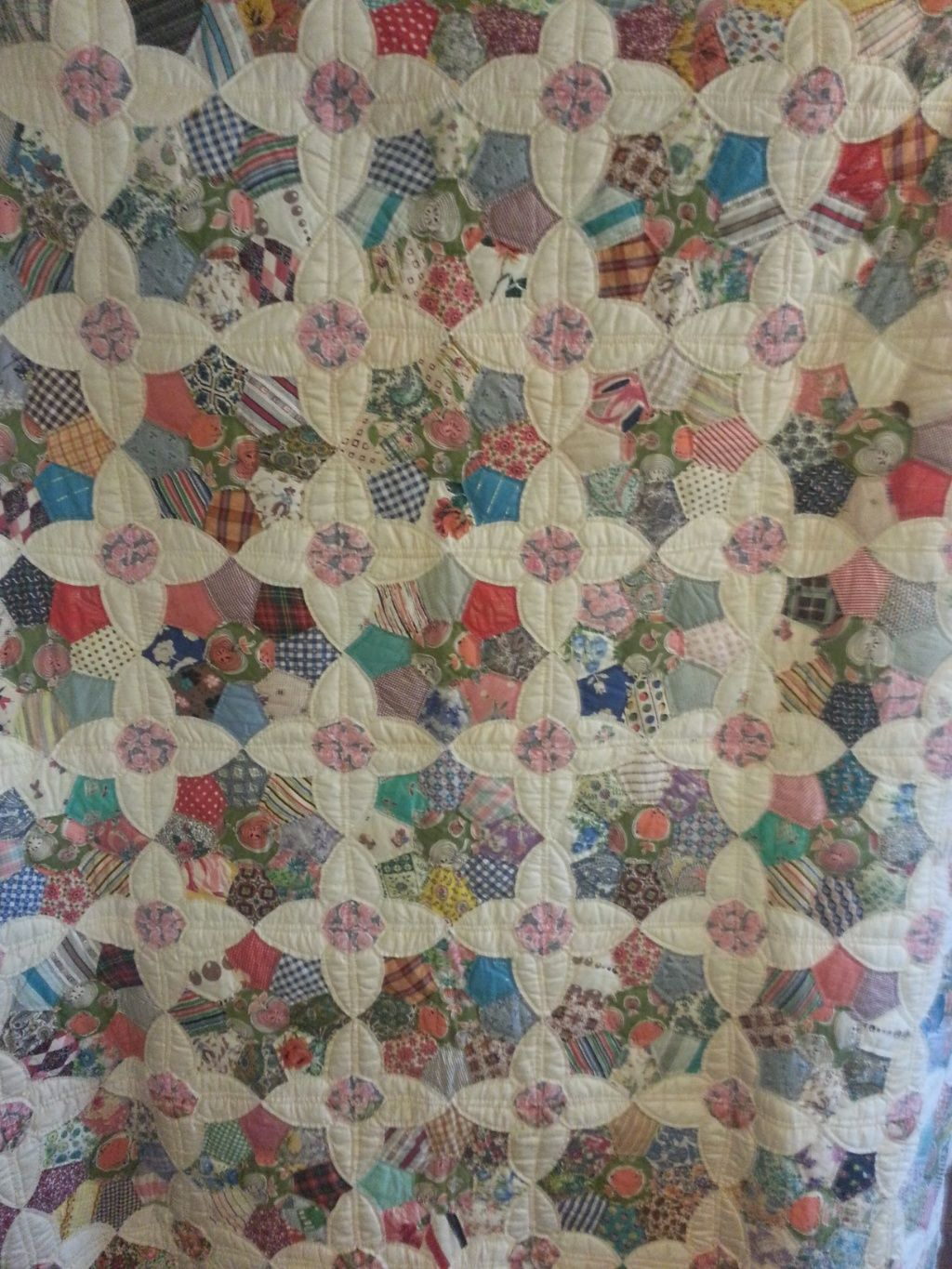 Antique quilt: pattern is Friendship Garden by Laura Wheeler in ... : quilt shops in kansas city - Adamdwight.com