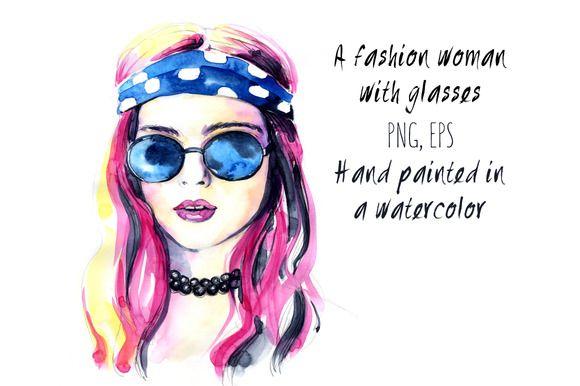 646cb1d0276 A fashion woman by mistakeann on Creative Market