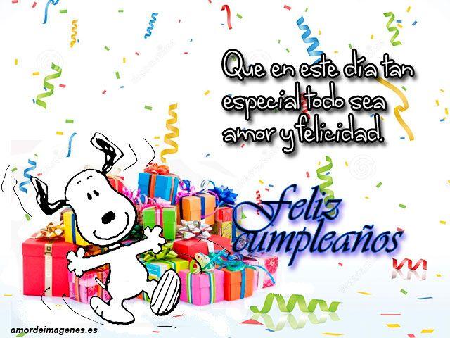 imagenes de tarjetas de cumpleaños de snoopy IDEAS VARIAS Snoopy