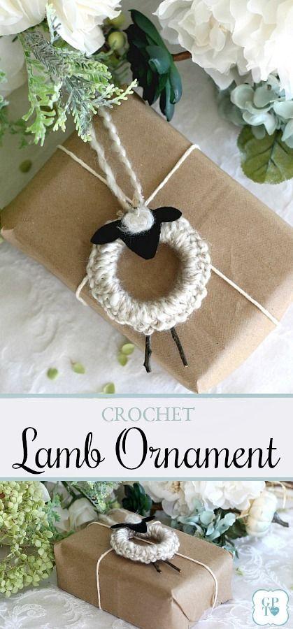 Photo of Easy Peasy Crochet Lamb Ornaments | Grateful Prayer | Thankful Heart