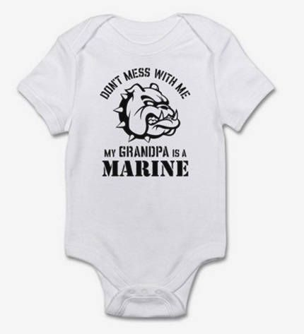 MARINE ENGINEER BODY SUIT PERSONALISED DADDYS LITTLE BABY GROW GIFT