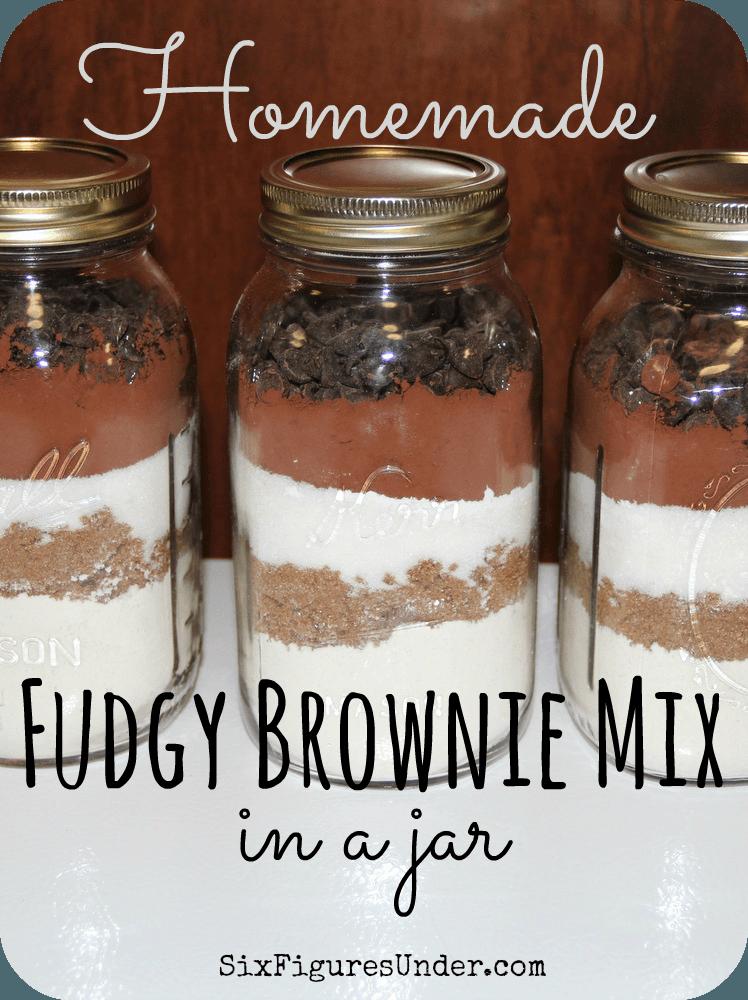 Homemade Fudgy Brownie Mix | Rezept | DIY Ideas | Pinterest ...