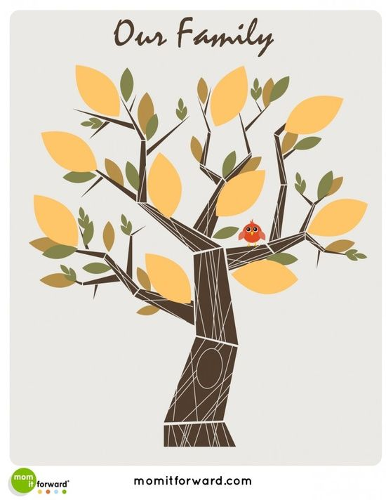 free family tree printables pinned by momitforwardcom super cute contemporary designs if you dont require a lot of structural flexibility