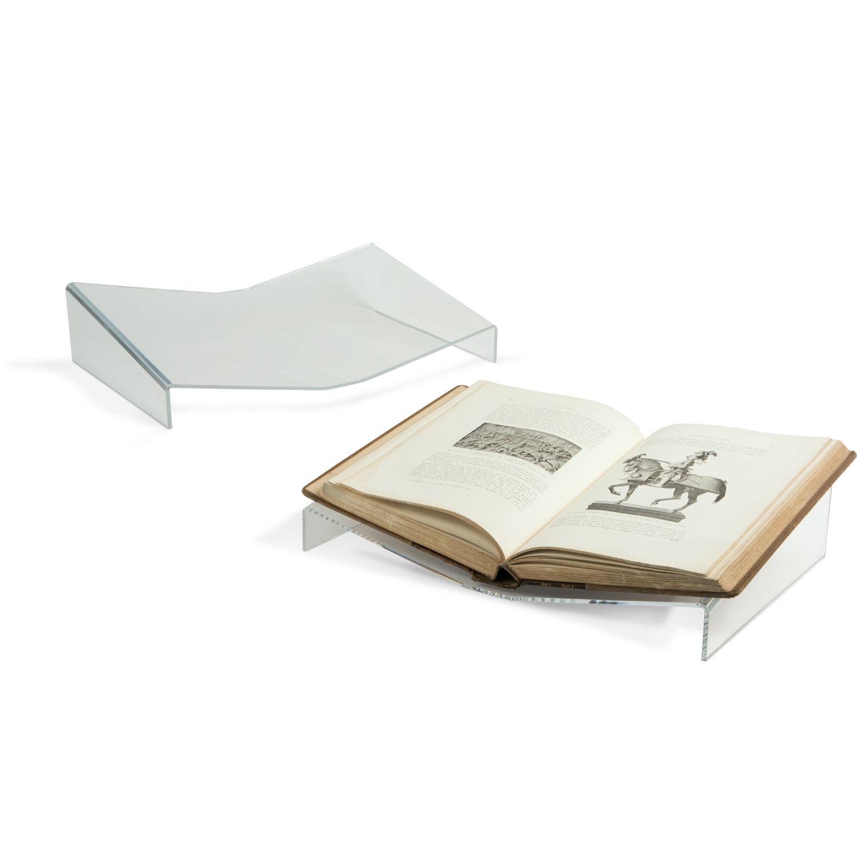 acrylic open book cradle cradles mounts display accessories