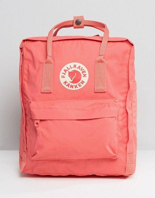 113349da6fbc0 Fjallraven Kanken Classic Peach Pink Backpack
