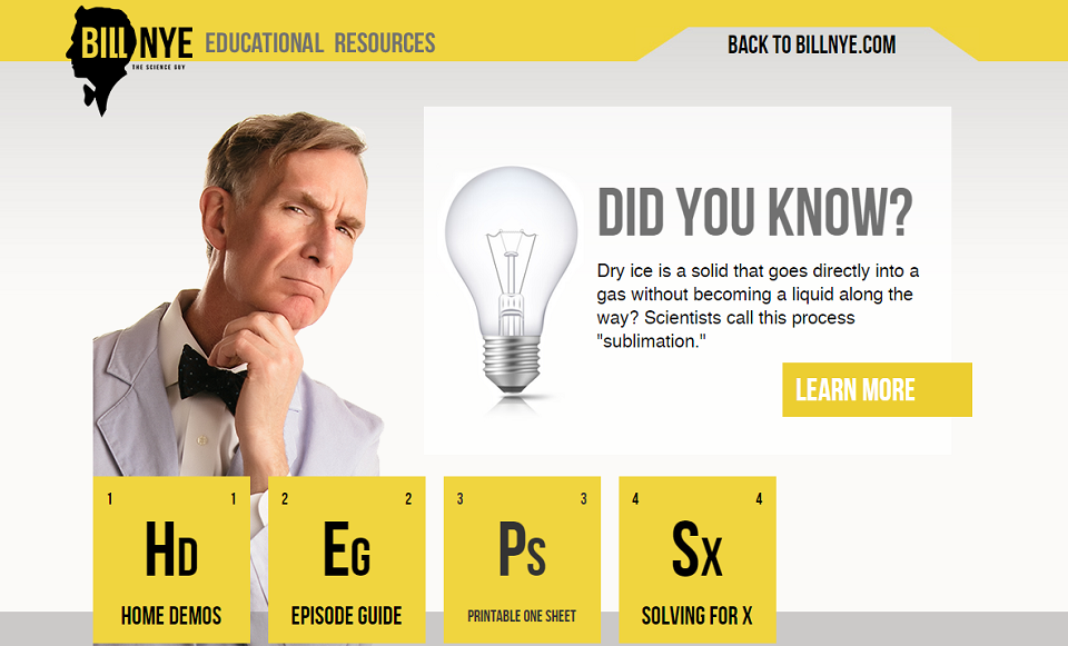 The blog of science communicator bill nye the site is full of the blog of science communicator bill nye the site is full of science activities and urtaz Choice Image