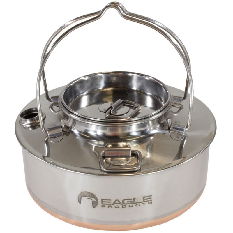 1.2L STAINLESS STEEL COOKING POT BUSHCRAFT SURVIVAL CAMPING KETTLE 2019 UK STOCK