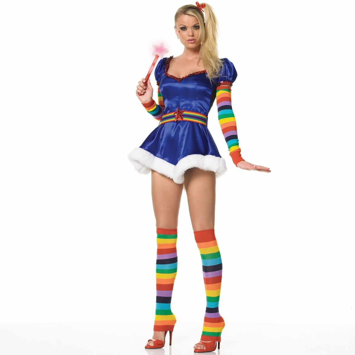 i have always wanted to be rainbow bright for halloween. but i wish ...