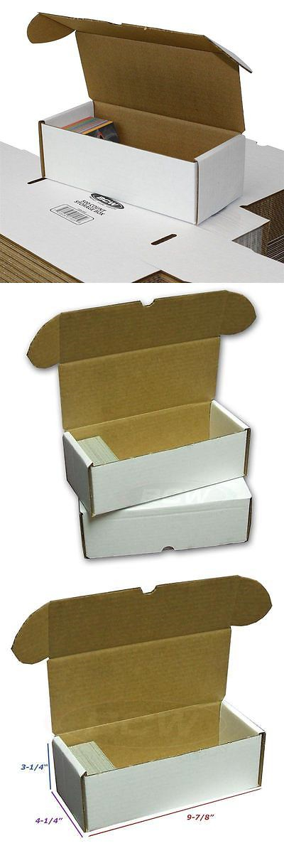 b4c10b6e079 Card Storage Boxes 183440  (50) - 500 Count Cardboard Trading Card Storage  Boxes