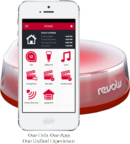 Revolv allows you to control and monitor your home from your ...