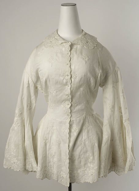 Womens cotton bed jacket