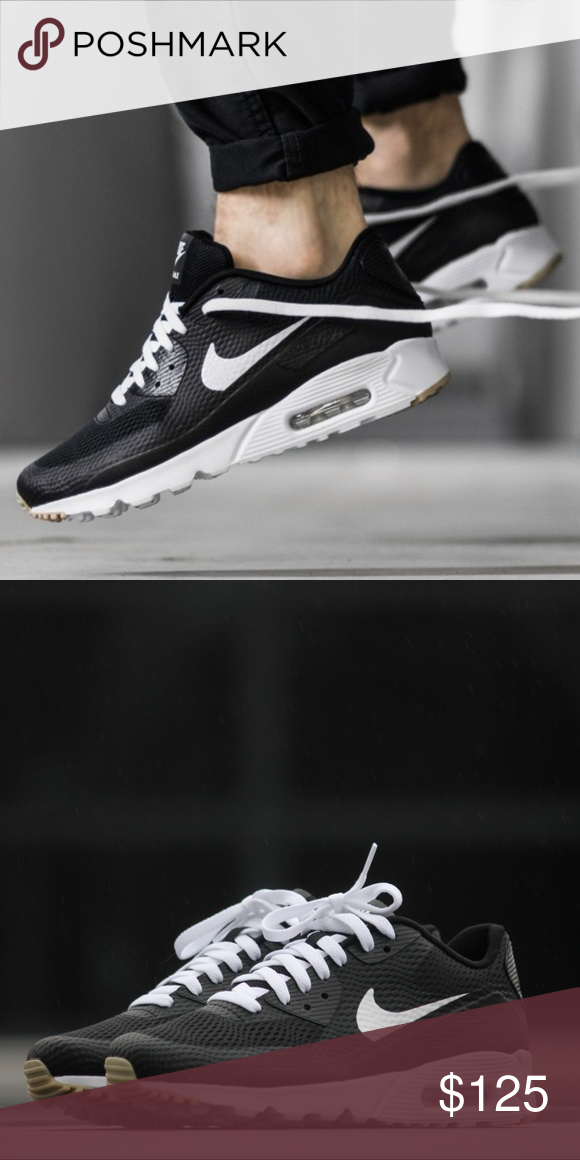 timeless design 90623 cdac5 Men s Nike Air Max 90 Essential (Size 13) Brand New in Box 100% authentic  Excellent Condition Size 13 Men Black white gum colorway Ships doubled  boxed ...