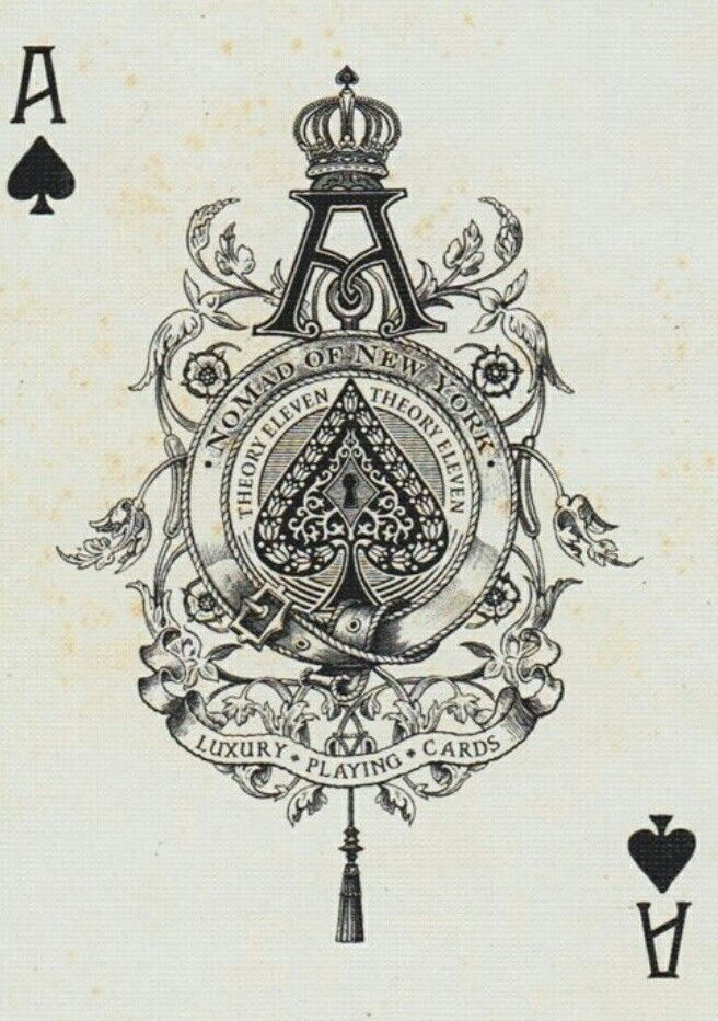 Ace Of Spades Card Tattoo Ace Of Spades Tattoo Playing Cards Art