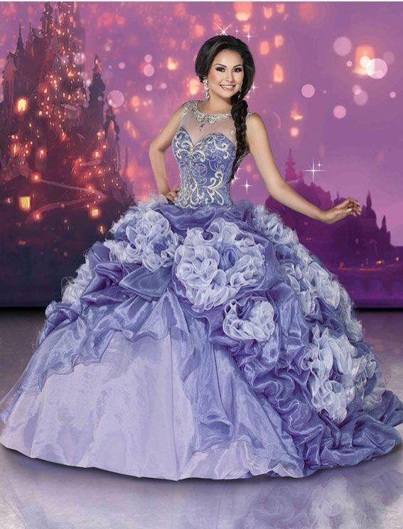 401fbad836 Vestido de quinceañera color lila