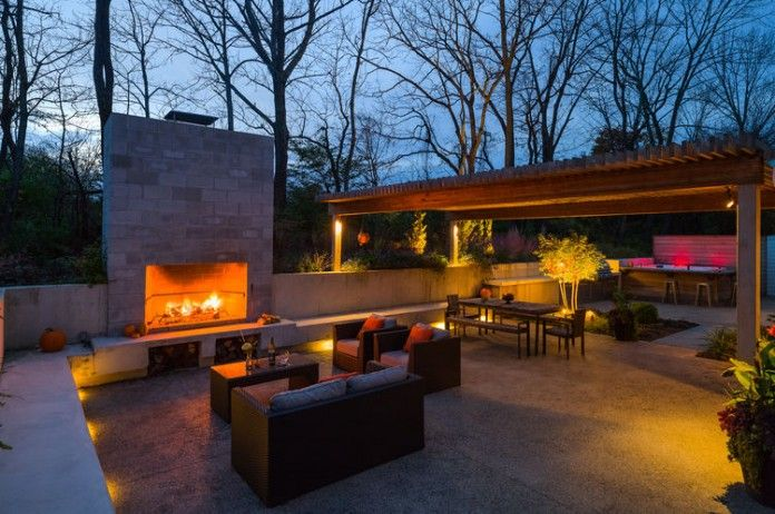 Outdoor Fireplace entertaining area | Home Design | Pinterest ... on basement with fireplace, furniture with fireplace, room with fireplace, apartment with fireplace, bathroom with fireplace, garage with fireplace, outdoor living with fireplace,