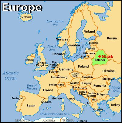 Minsk on the map of the Europe Blast off Pinterest