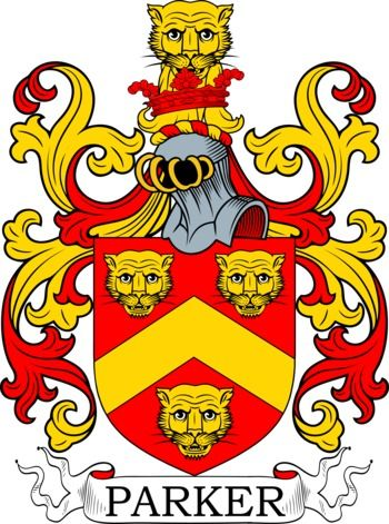 Parker Family Crest And Coat Of Arms Coadb Pinterest Arms