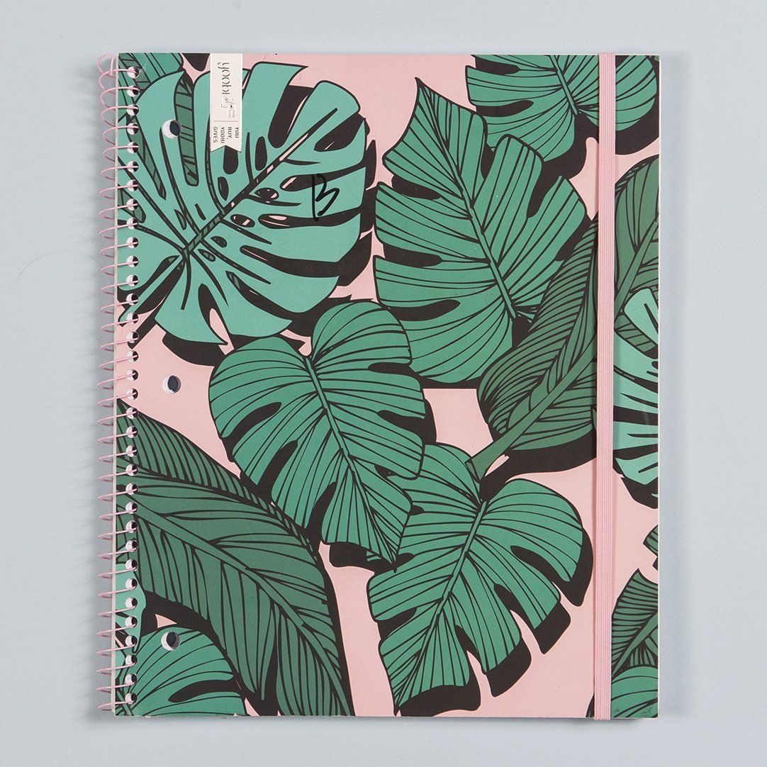 Spiral Notebook, College Ruled - Palm Frond | Products in