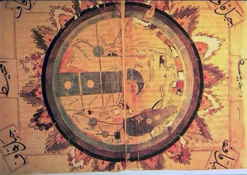 El kazvinnin dnya haritas dnya corafyasi hartalar 222 al qazwini world map gumiabroncs Image collections
