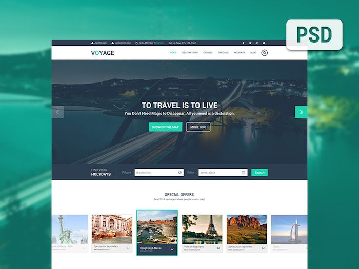 6 Plantillas PSD para paginas web gratis | Paginas web gratis ...