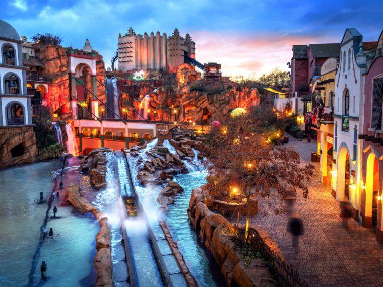 Der Wintertraum Im Januar Phantasialand Winter Freizeitpark