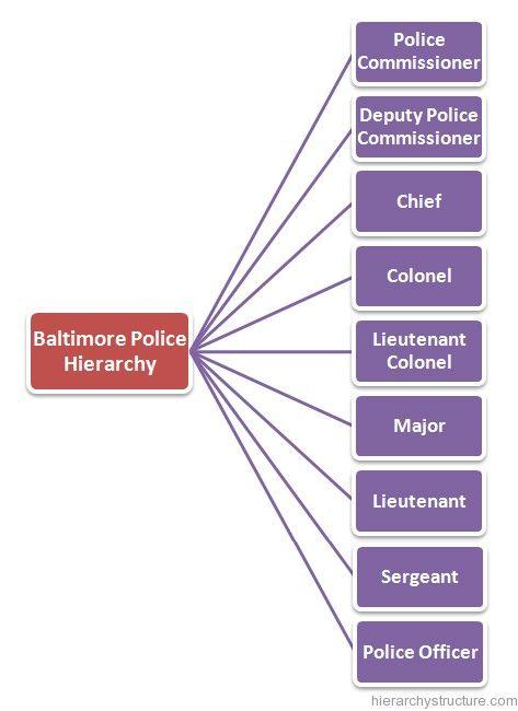 Baltimore Police Hierarchy Baltimore Police Hierarchy Police