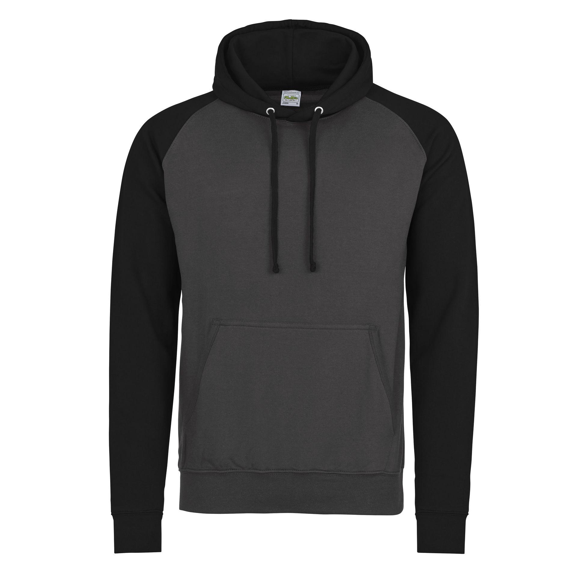 AWDis Hoods College Hoodie Jet Black Streetwear Hoodies