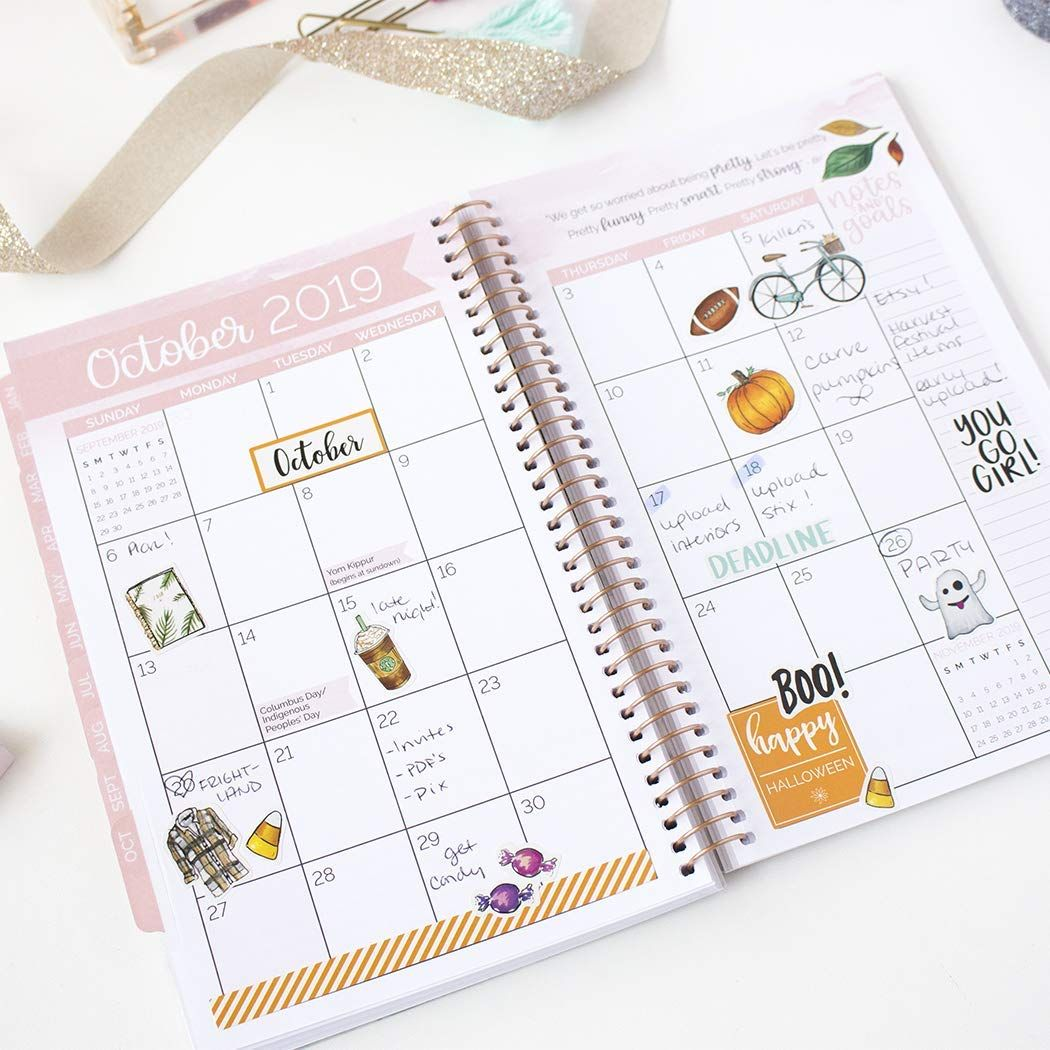 amazon com bloom daily planners 2019 calendar year day planner