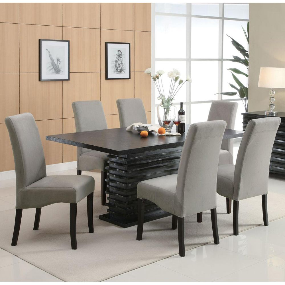 Stanton Dining Table   Contemporary dining room sets, Grey dining ...