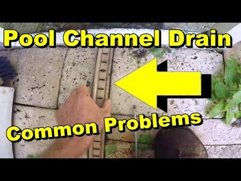 Deck O Drain Replacement Cap Youtube Cool Deck Deck Drain Pool