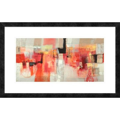 "Global Gallery 'Giovinezza' by Maurizio Piovan Framed Painting Print Size: 20"" H x 32"" W x 1.5"" D"