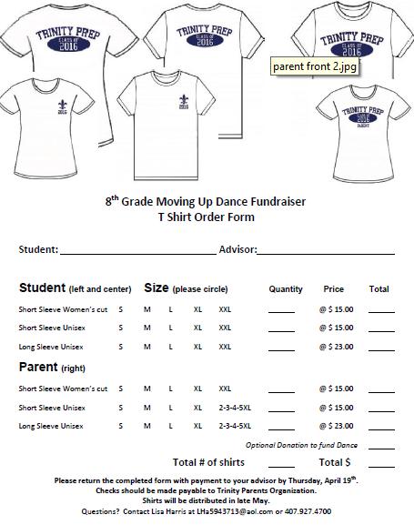 T Shirt Order Forms 50 Customized T Shirt Order Form Templates Demplates T Shirt Fundraiser Shirt Order T Shirt