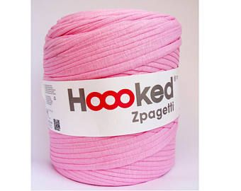 Hoooked Zpagetti Recycle T Shirt Jersey Fil Canette Geante 120m Crochet Tricot Toutes Les Couleurs Hoooked Zpagetti Hoooked Et Zpagetti