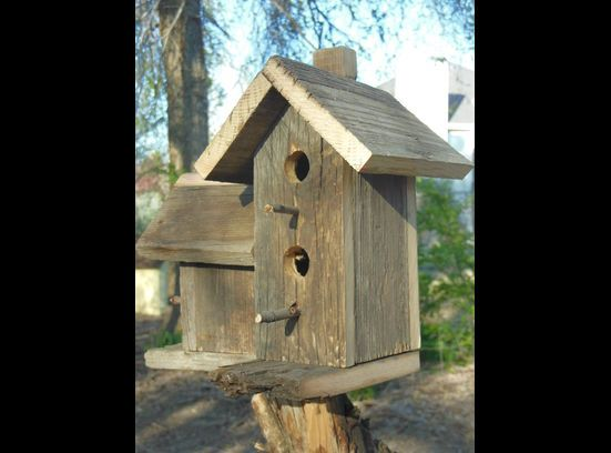 Bird houses and feeders - custom made