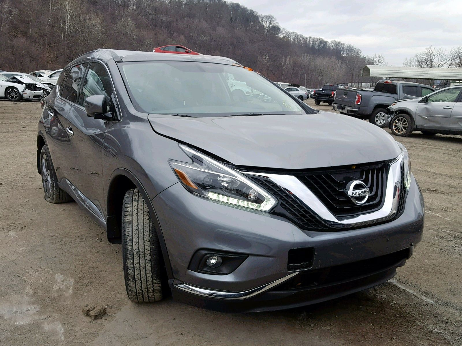 Salvage 2018 Nissan Murano S Nissan murano, Nissan, Car