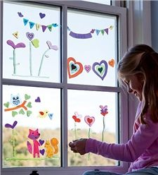 More GelGems® Window Clings inspiration, your imagination is your limit!!
