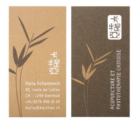 Carte De Visite Mdecine Traditionnelle Chinoise Katia Schambeck