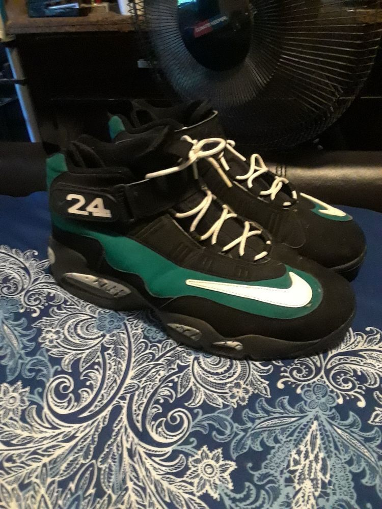 best sneakers 34bab 222f2 Nike Air Ken Griffey Max 1 Size 13 Fresh Water Black Basketball 24  fashion   clothing  shoes  accessories  mensshoes  athleticshoes (ebay link)