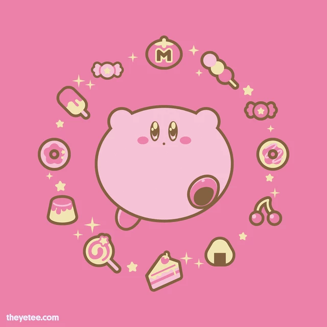 Daily Tees The Yetee Kirby Art Kirby Games Kirby You can always come back for the yetee discount code because we update all the latest coupons and special deals weekly. daily tees the yetee kirby art