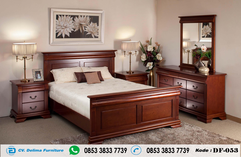 Tempat Tidur Jati Jepara Model Minimalis Jual Set Kamar