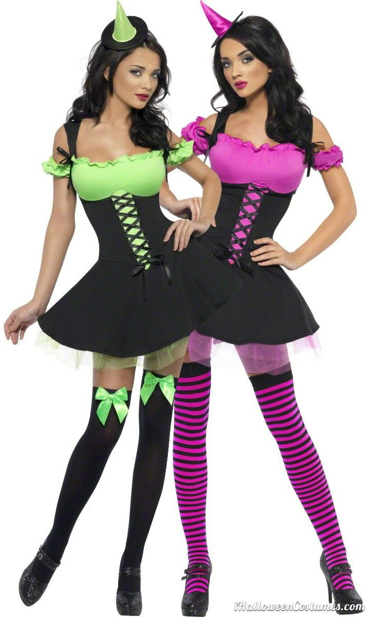 Sexy witch costume for couples Halloween Costumes brujitas