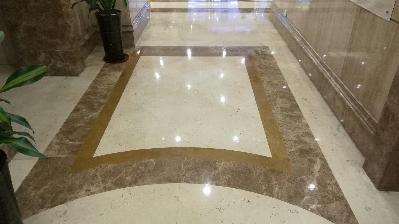 Marble Flooring In Hotel Elevator Lobby Marble Medallion Marble