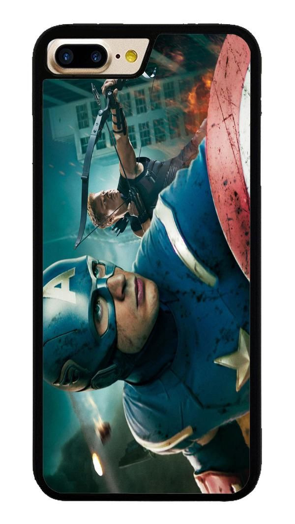 Captain America in Avengers for iPhone 7 Plus Case #CaptainAmerica #ranger #avangers #Marvel #iphone7plus #covercase #phonecase #cases #favella