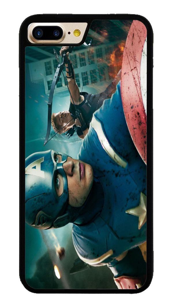 Captain America in Avengers for iPhone 7 Plus Case #CaptainAmerica #ranger #avangers #Marvel #iphone7plus #covercase #phonecase #cases #favella
