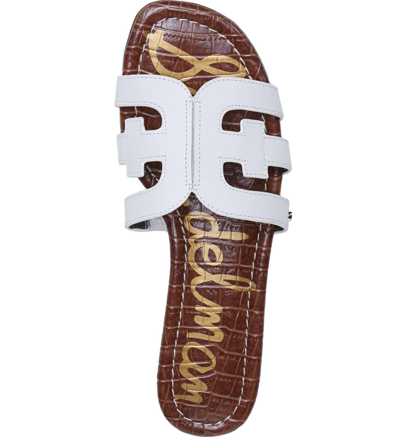 119639832a58f Main Image - Sam Edelman Bay Cutout Slide Sandal (Women) Slide Sandals