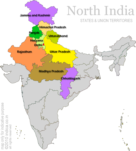 north india map - Google Search | India map, Map, North india on google map san francisco, google map canada, google map turkey, google map china, google map south africa, google map europe, google map thailand, google map south america, google map new england, google map new york,