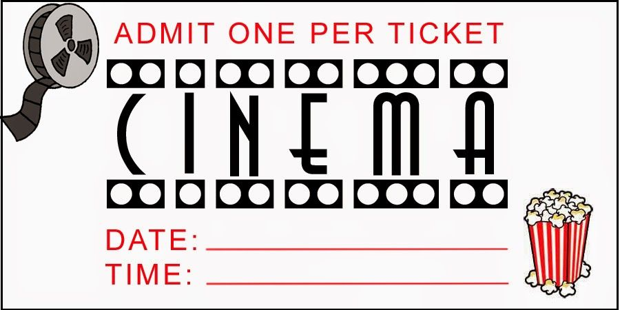 image regarding Printable Movie Tickets identified as Spouse and children Powerful: No cost Printable Online video Night time Tickets Get together
