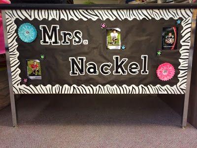 Monday Made It My Teacher Desk