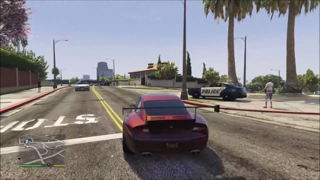 GTA 5 NPC Police Chase #GrandTheftAutoV #GTAV #GTA5 #GrandTheftAuto #GTA #GTAOnline #GrandTheftAuto5 #PS4 #games