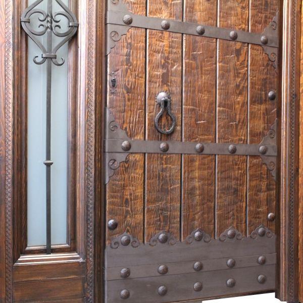 Resultado de imagen de puertas de madera rusticas ideas for Puertas para casas rusticas
